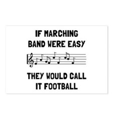 Marching Band Easy Postcards (Package of 8)