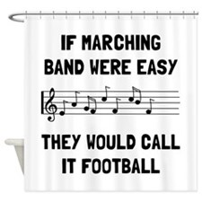Marching Band Easy Shower Curtain