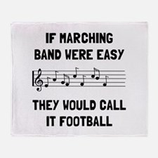 Marching Band Easy Throw Blanket