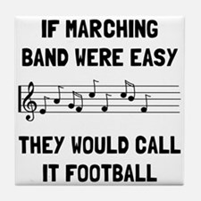 Marching Band Easy Tile Coaster