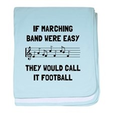Marching Band Easy baby blanket