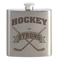 Hockey Strong Flask