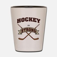 Hockey Strong Shot Glass
