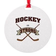 Hockey Strong Ornament