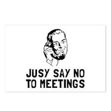 No Meetings Postcards (Package of 8)
