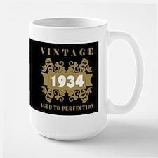 1934 Aged To Perfection Large Mug