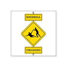 Baseball Crossing Sticker