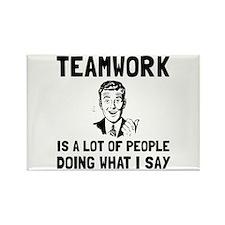 Teamwork Say Magnets