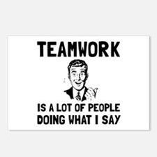 Teamwork Say Postcards (Package of 8)