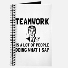 Teamwork Say Journal
