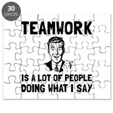 Teamwork Say Puzzle
