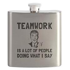 Teamwork Say Flask