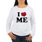 I love Long Sleeve T Shirts