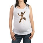 Rock Climber Maternity Tank Top