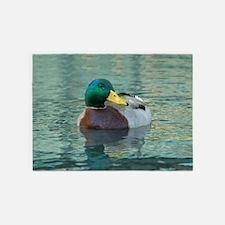 Duck 5'x7'Area Rug