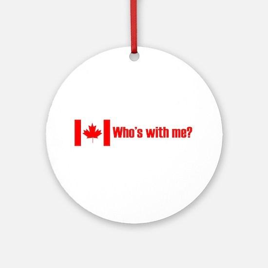 Canada Ornament (Round)
