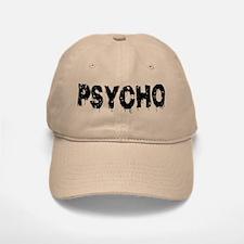 Psycho Baseball Baseball Cap