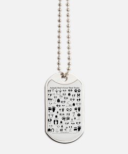 North American Animal Tracks Dog Tags