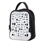 North American Animal Tracks Neoprene Lunch Bag