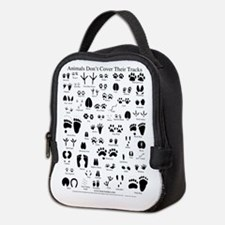 North American Animal Tracks Neoprene Lunch Bag