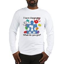 I have Aspergers Long Sleeve T-Shirt