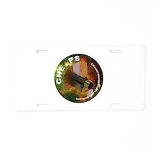 CHEOPS Aluminum License Plate