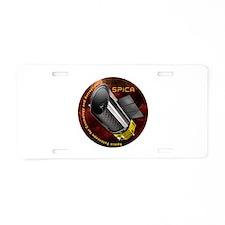 SPICA Aluminum License Plate
