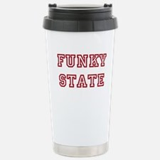 FUNKY STATE Stainless Steel Travel Mug