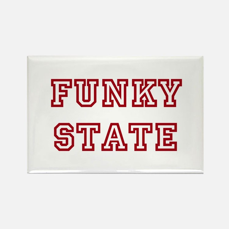 FUNKY STATE Rectangle Magnet