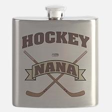 Hockey Nana Flask