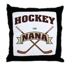 Hockey Nana Throw Pillow