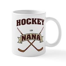 Hockey Nana Small Mugs