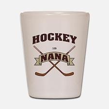 Hockey Nana Shot Glass