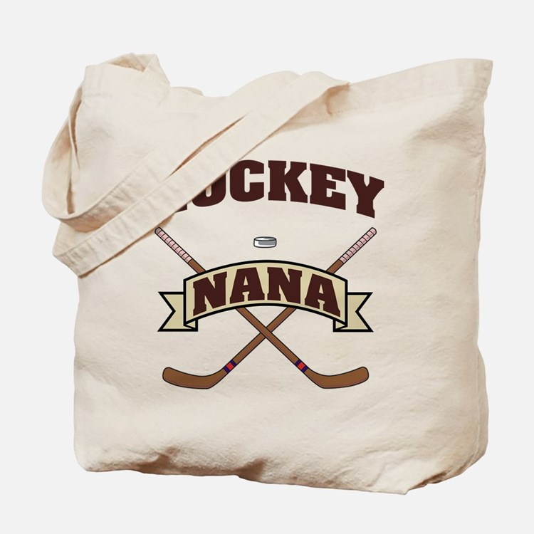 Hockey Nana Tote Bag