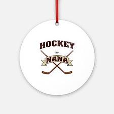Hockey Nana Ornament (Round)