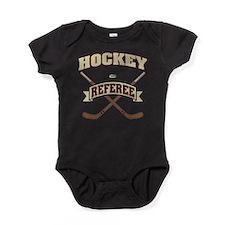 Hockey Referee Baby Bodysuit