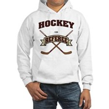 Hockey Referee Hoodie Sweatshirt