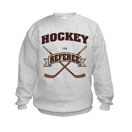Hockey Referee Kids Sweatshirt