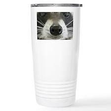 Raccoon Face Travel Mug