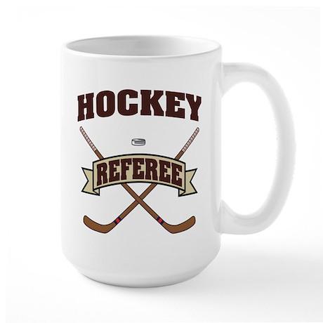 Hockey Referee Large Mug