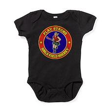 Girl's Field Hockey Baby Bodysuit