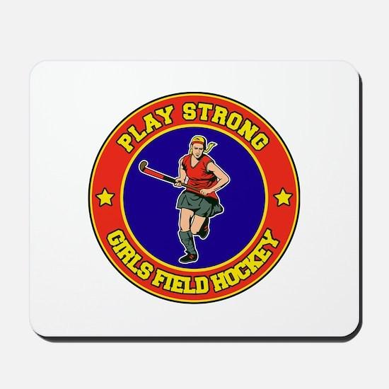 Girl's Field Hockey Mousepad