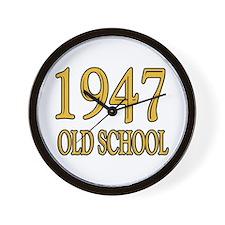 1947: Old School Wall Clock