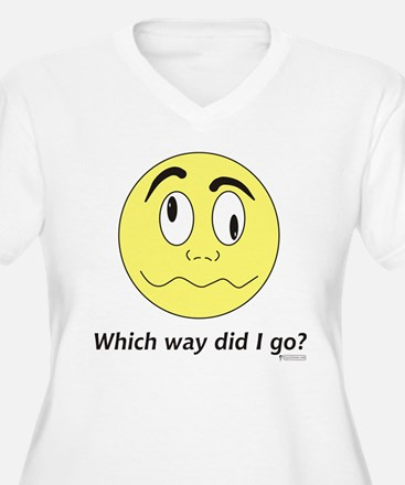 Which Way Did I Go? T-Shirt