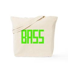 Lime Green Bass Tote Bag