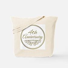 4th Anniversary Tote Bag