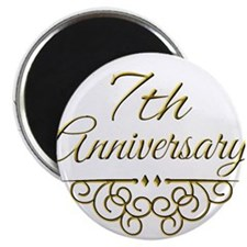 7th Anniversary Magnets