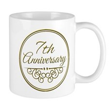 7th Anniversary Mugs