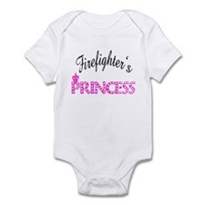 Firefighters's Princess Infant Bodysuit