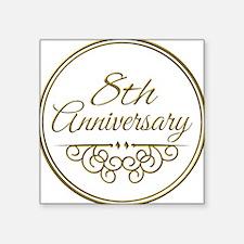 8th Anniversary Sticker